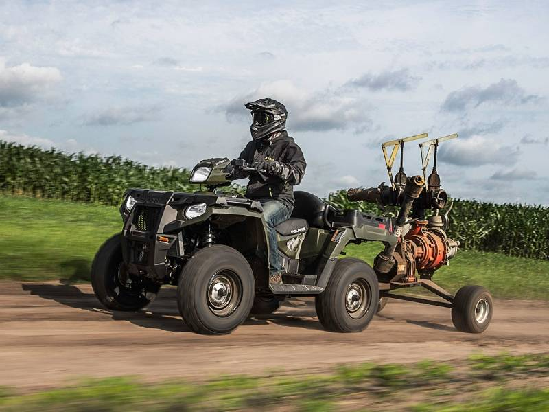 Polaris ATV in Wisconsin