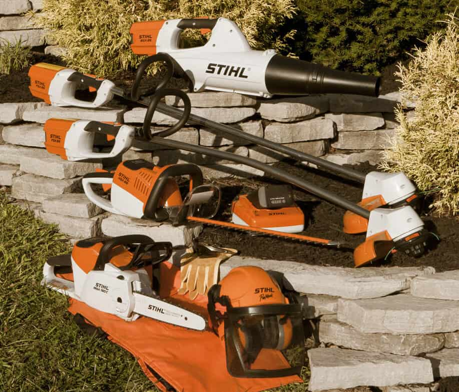 Picture of STIHL hand held equipment collection