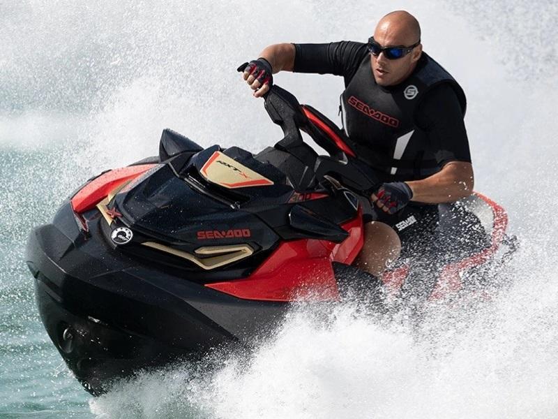Man riding on a 2019 Sea-Doo RXT®-X® 300