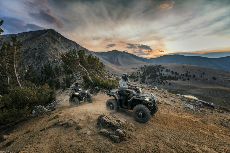 2019 Polaris Sportsman 850 Titanium ATVs
