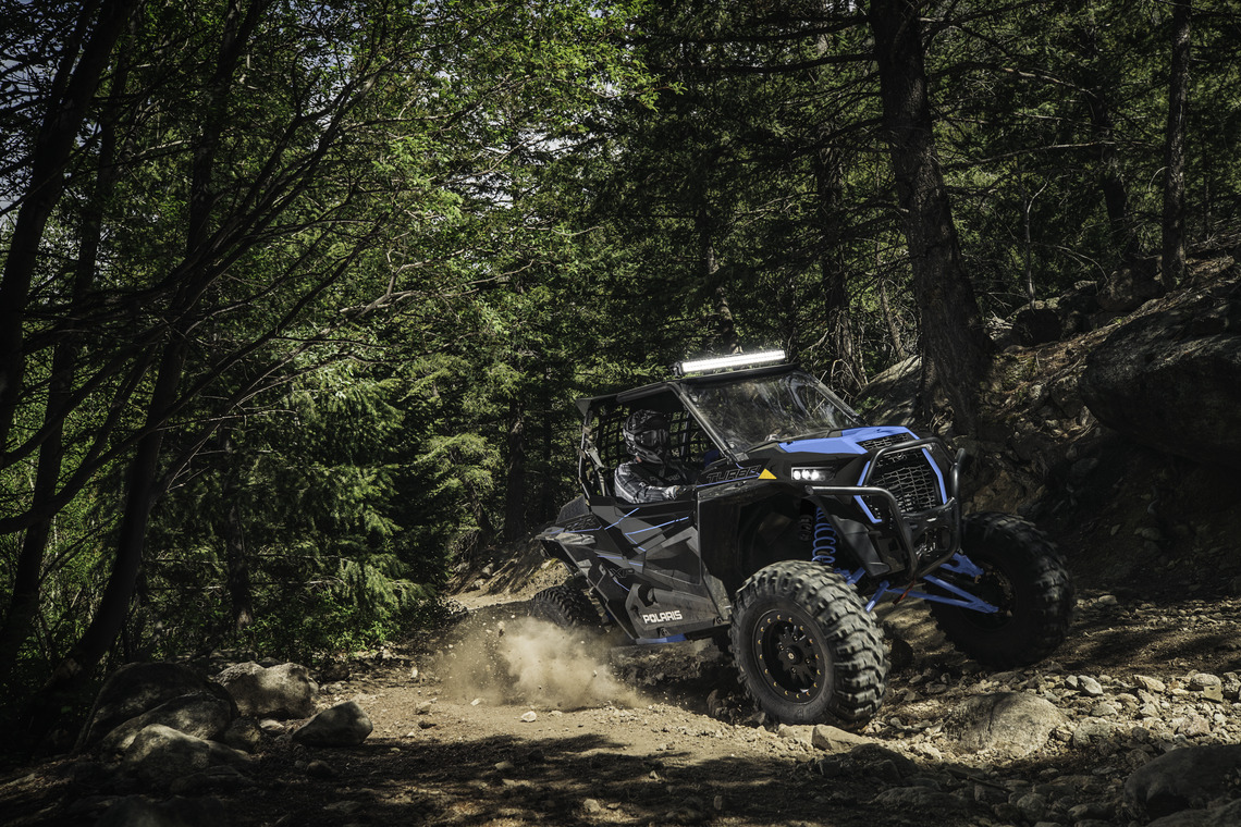 2019 Polaris RZR XP Turbo on Trails