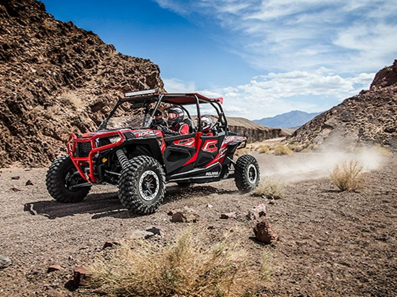 2015 Polaris® RZR® XP 4 1000 EPS on a trail