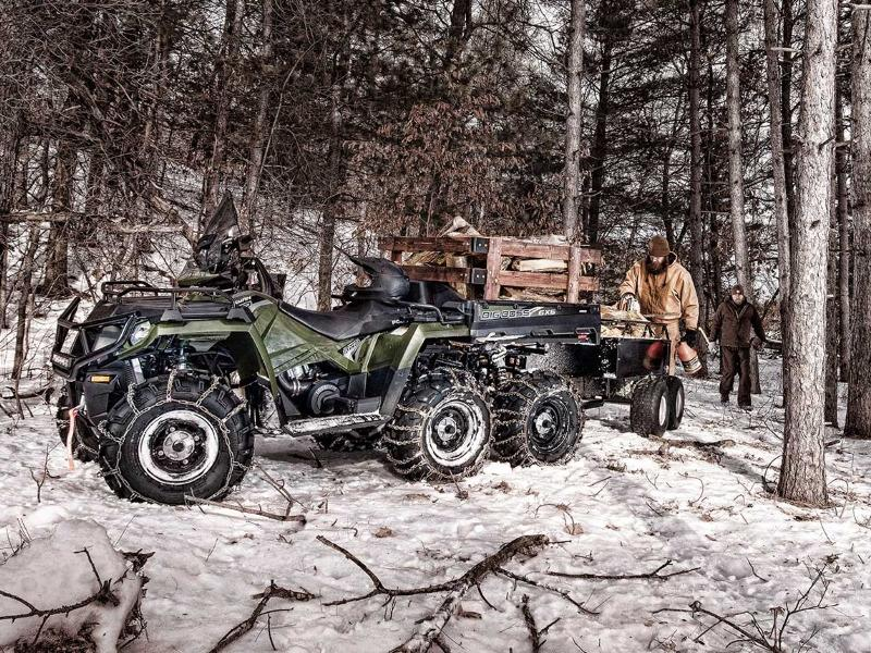 2019 Polaris® Sportman® 6x6x 750 in the woods