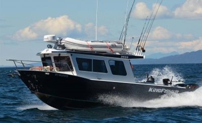 a 2019 Kingfisher Boats 2625 Coastal Express boat