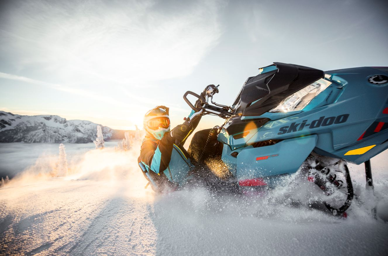 Ski-Doo Freeride Snowmobile