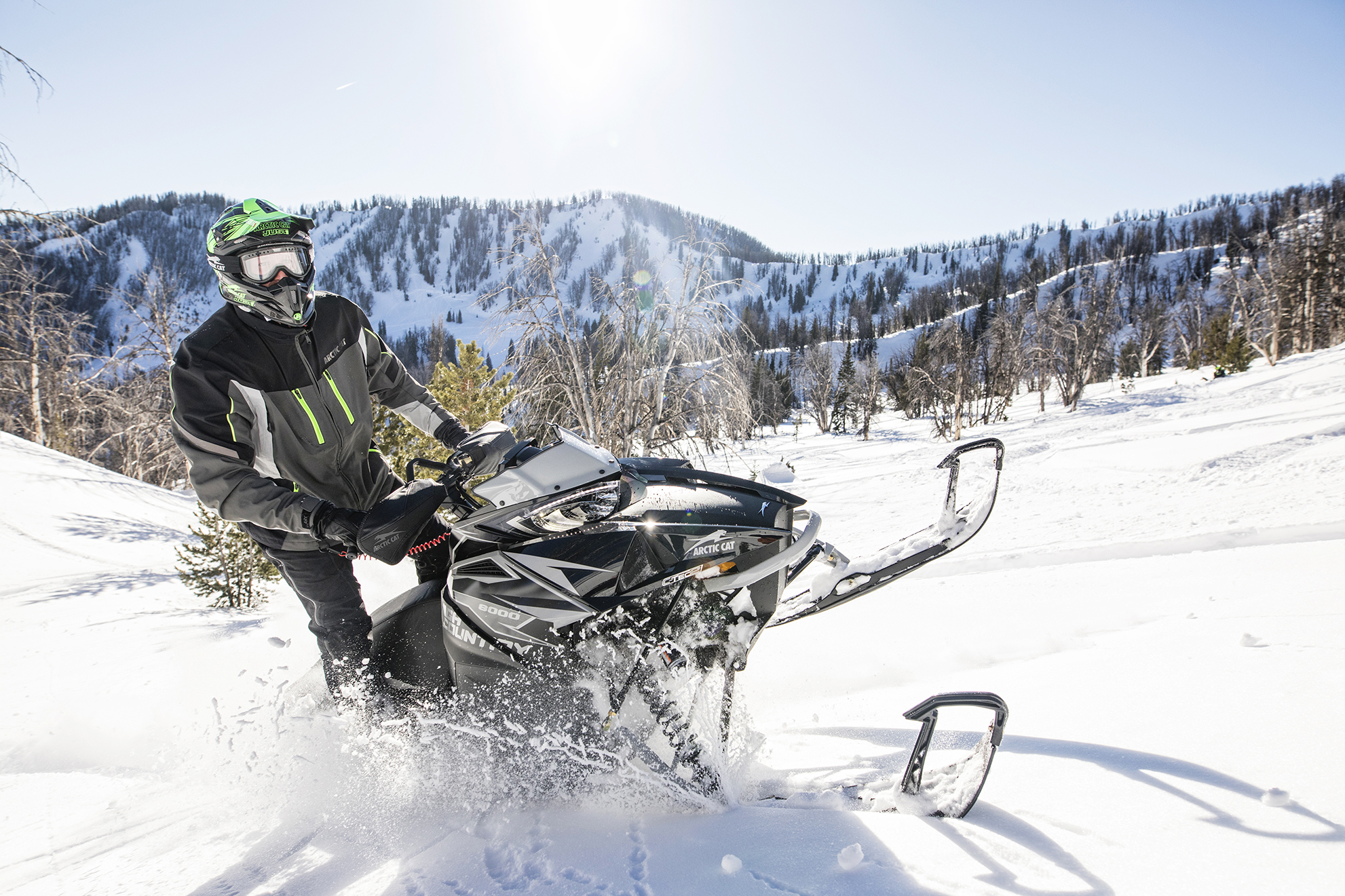 Arctic Cat XF CC crossover Snowmobile