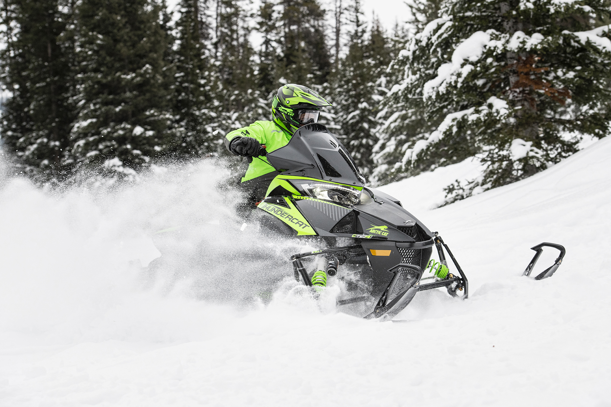 Arctic Cat ZR thudnercat Snowmobile