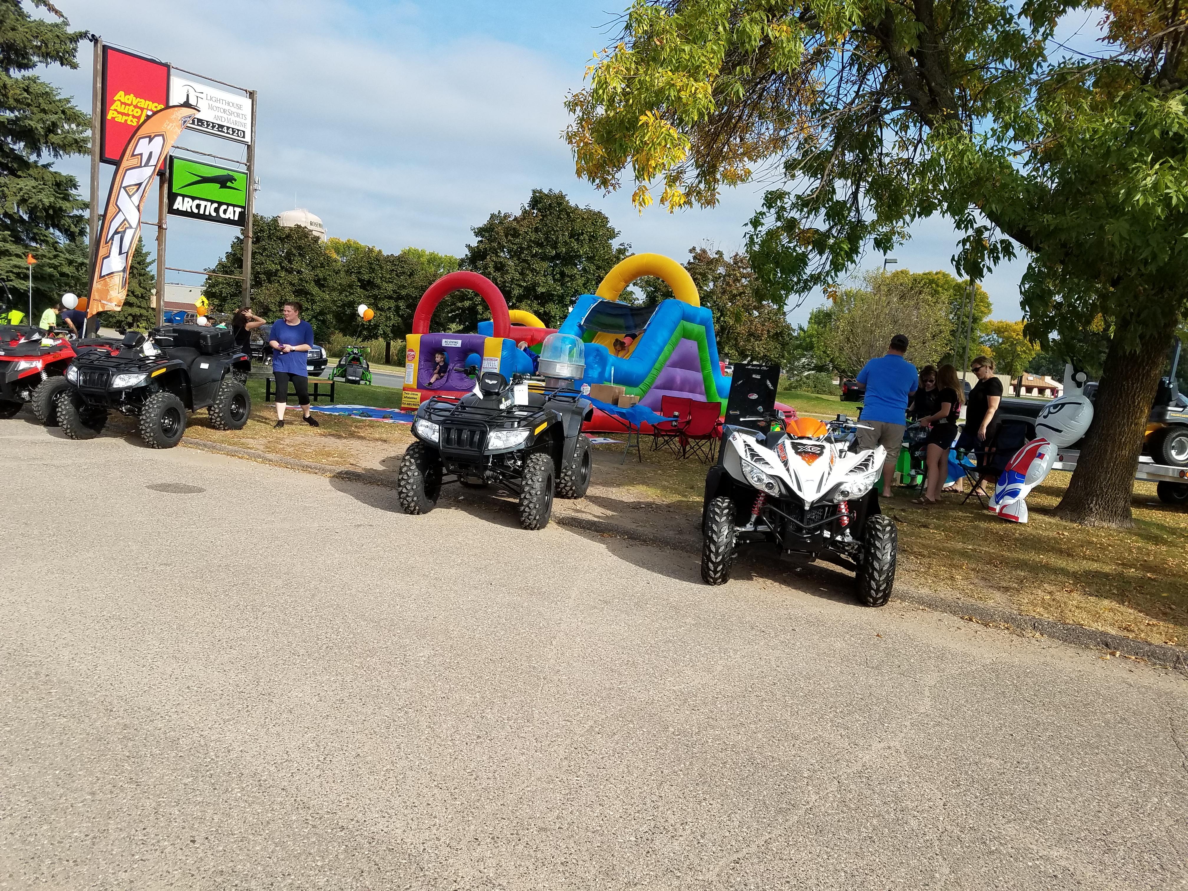 Lighthouse Motorsports and Marine Open House 2017 ATV