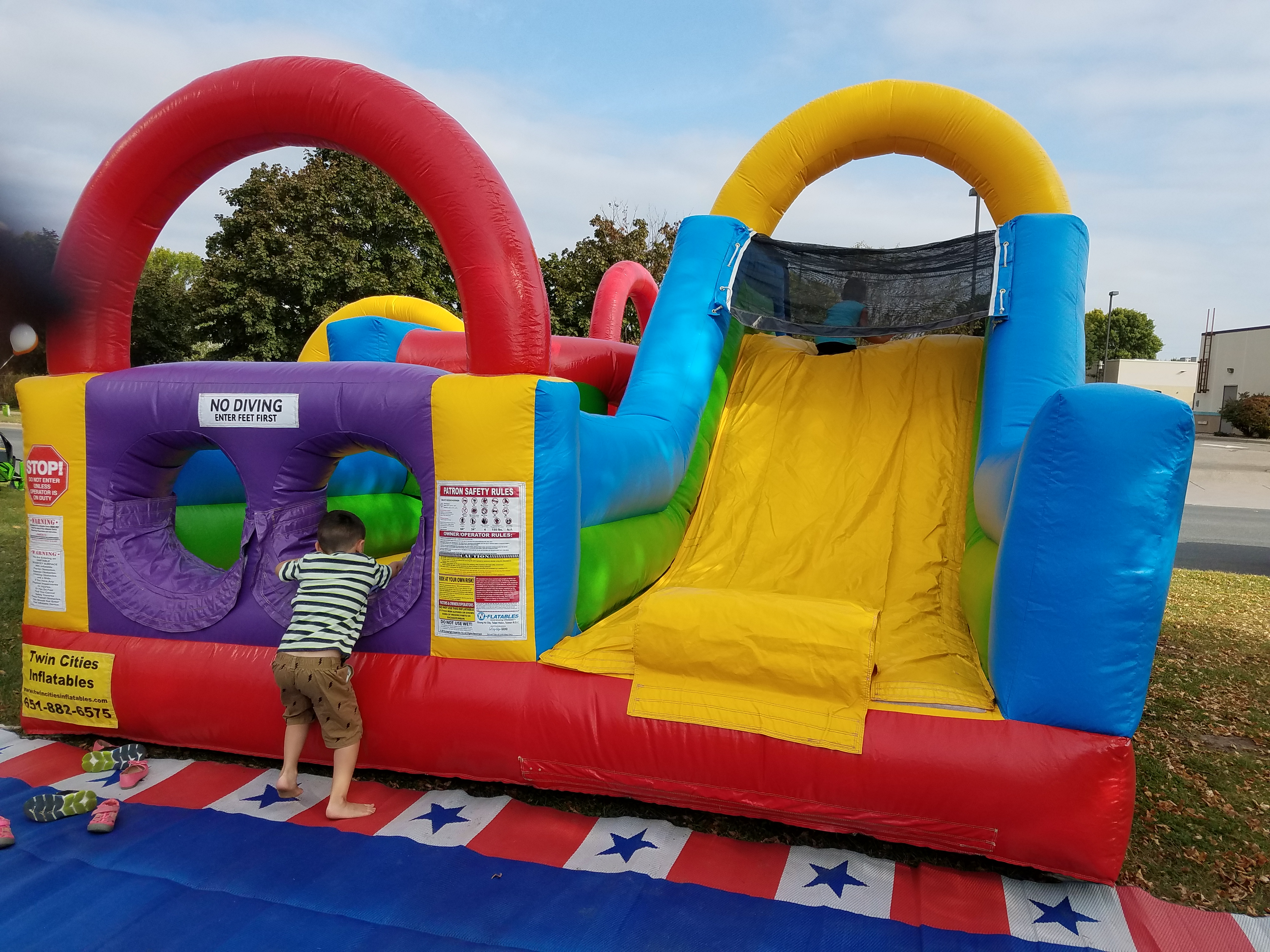 Lighthouse Motorsports and Marine Open House 2017 Bounce House
