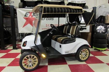 A 2019 E-Z-GO TXT Freedom 72V Personal Transport