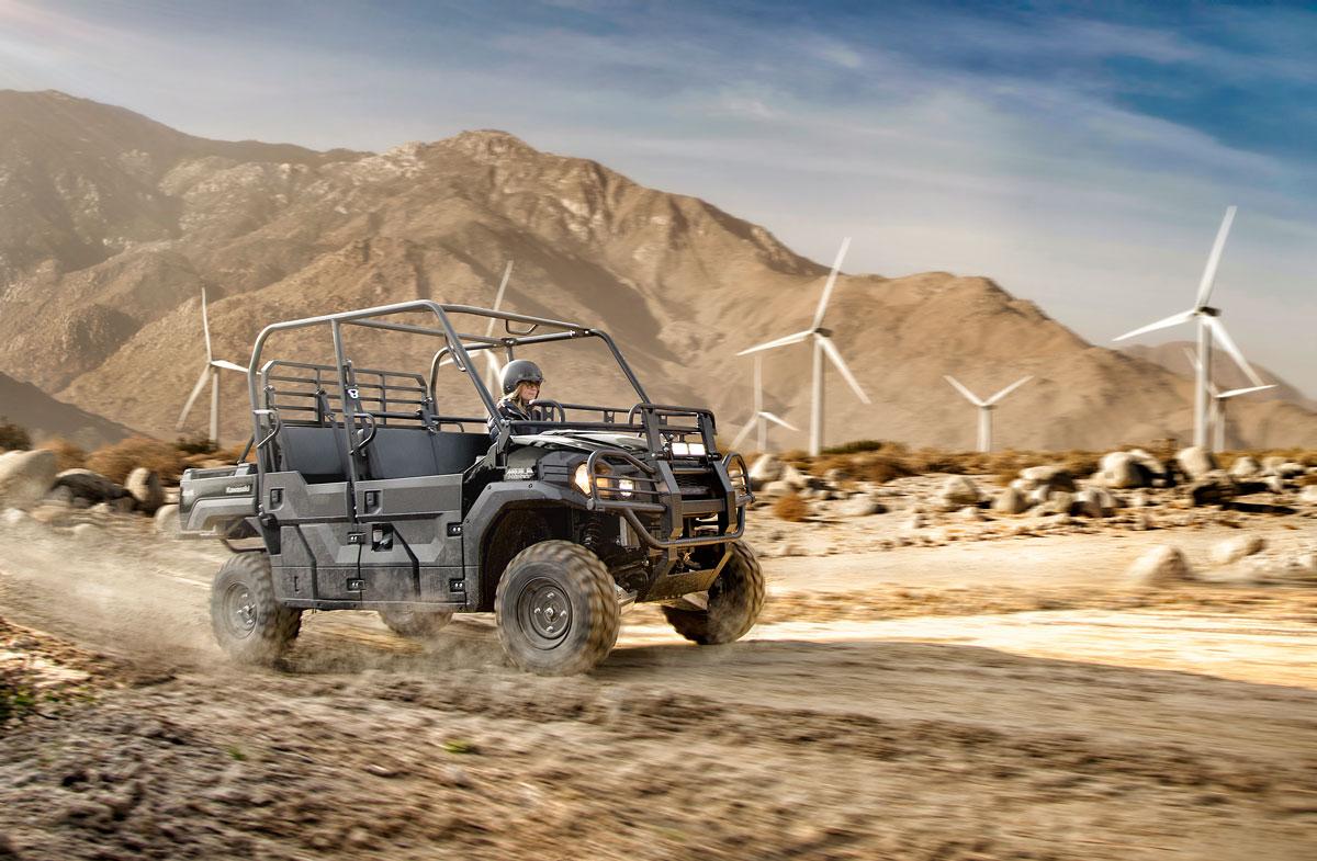 Kawasaki Mule PRO FXT™ Herrin, IL With Windmills