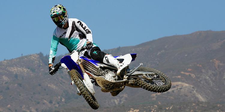 SSR Motorsports Dirt Bike in air