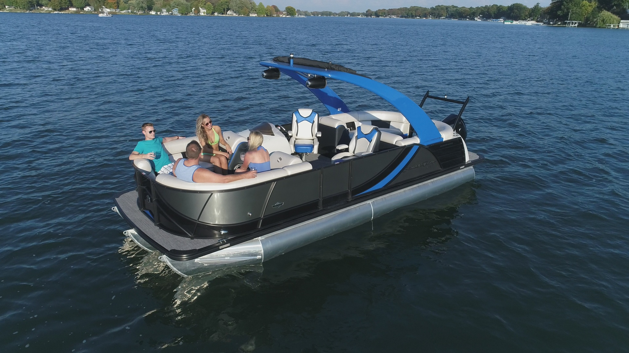 2019 South Bay 523 RS Pontoon Boat