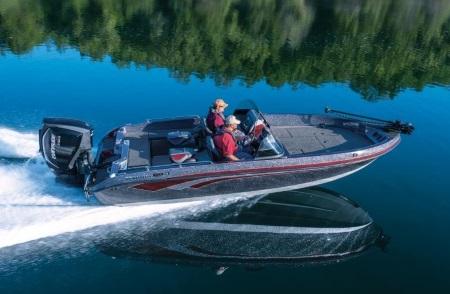 two men on a 2019 Ranger Boat 619FS