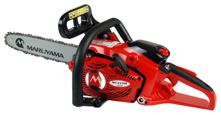 A 2019 Maruyama MCV31R commercial chainsaws