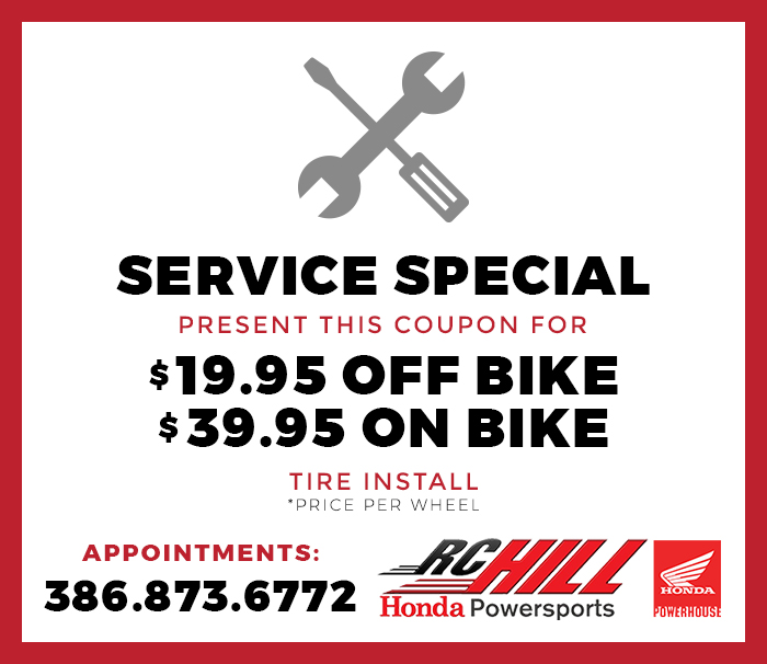 Tire Install Coupon