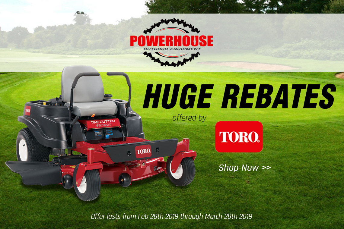 Toro Spring Sales Event