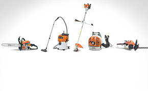 Stihl product line-up