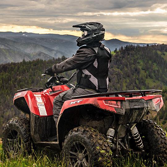 Textron Alterra 570 Full Size ATV on mountain near Tully, NY