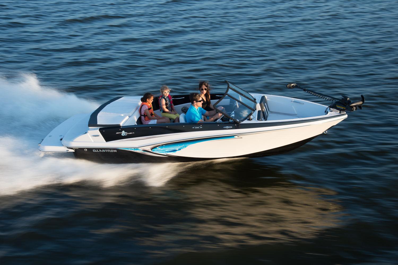 Family Speeding on Boat