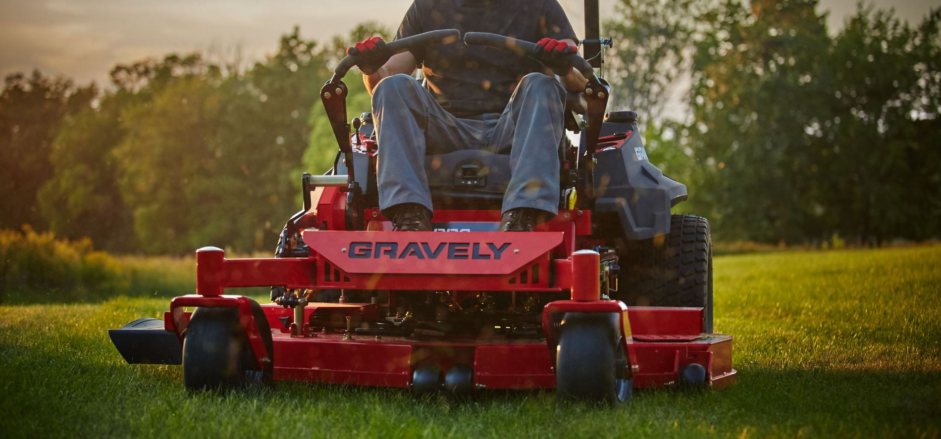 Gravely Zero-Turn Lawn Mower