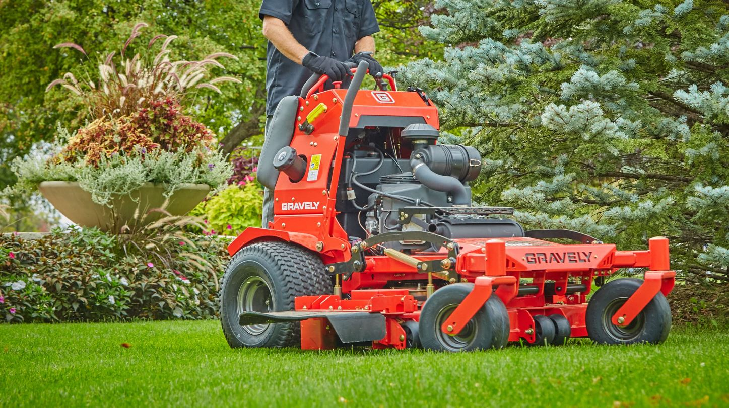 Gravely Stand-On Mower