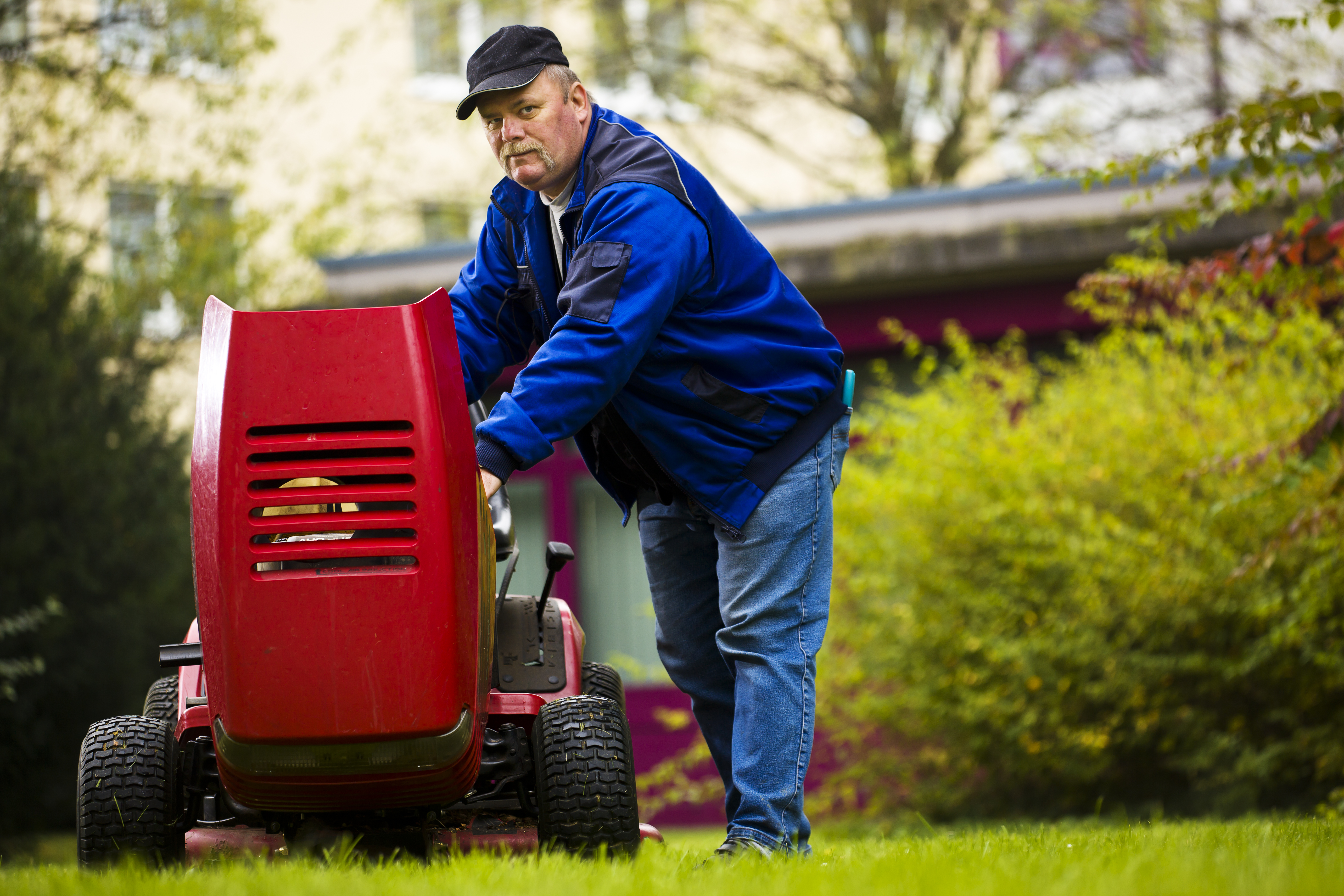 Repairing a Lawn Tractor