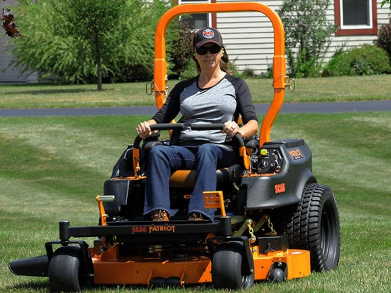 Commercial Lawn Mowers and Residential Lawn Mowers from