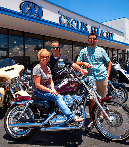 Welcome to Cycles, Skis & ATVs