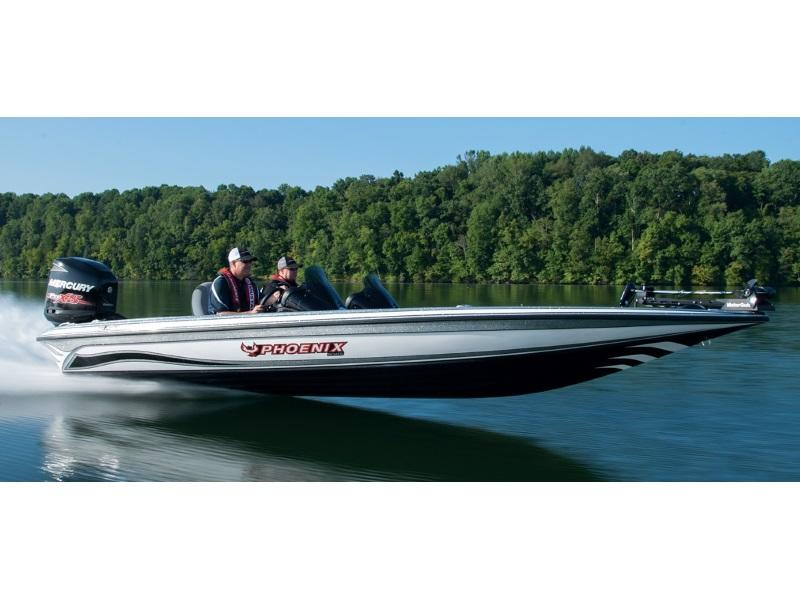 Man driving a 2019 Phoenix Bass Boats 921 Pro XP
