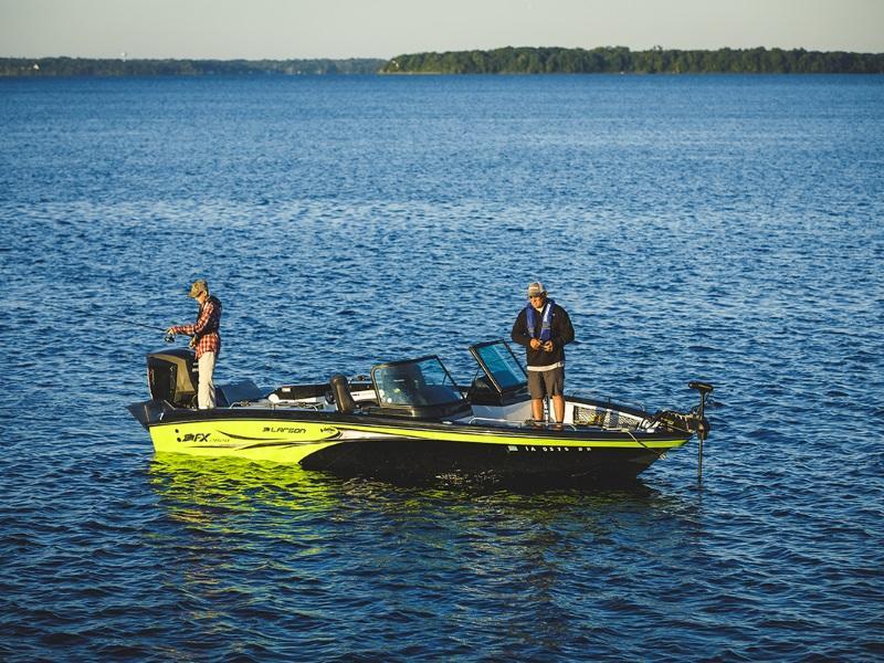 Larson Fishing Boat