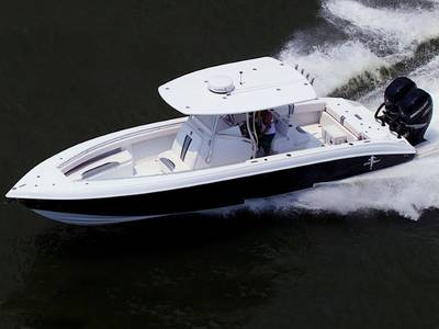 2017 350 Statement SUV on water