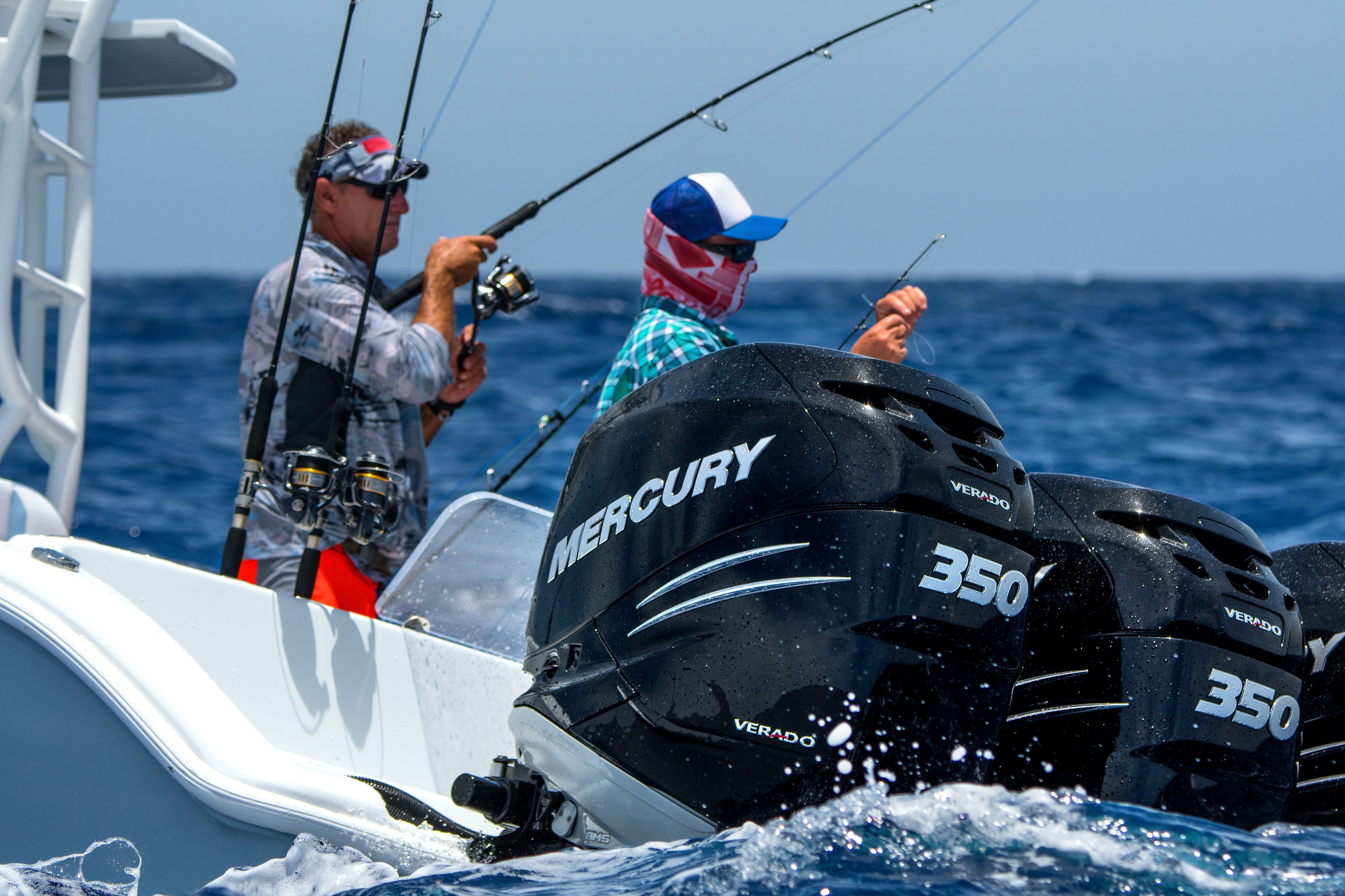 Mercury 350 outboards