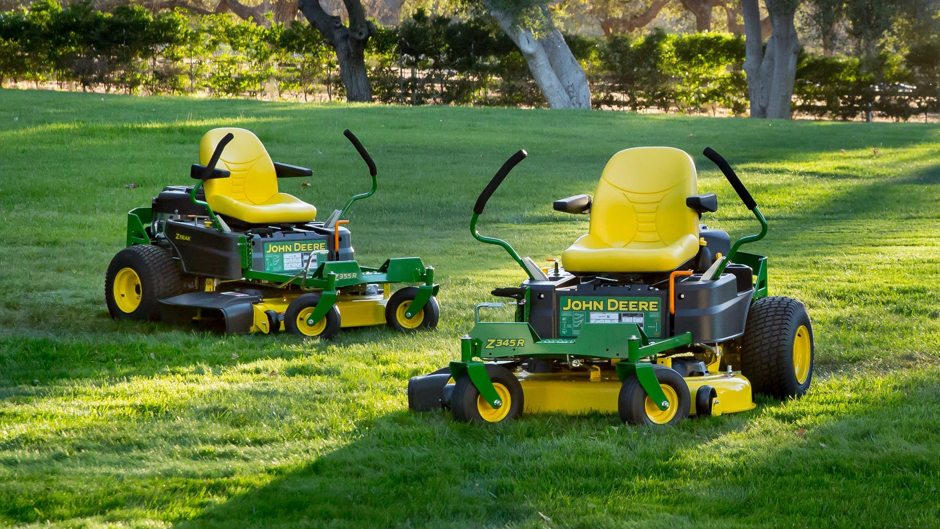 John Deere Zero Turn Mowers