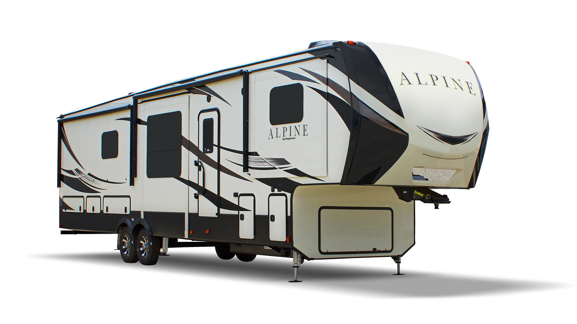 Keystone Alpine Fifth Wheel Exterior, Tiffin, IA