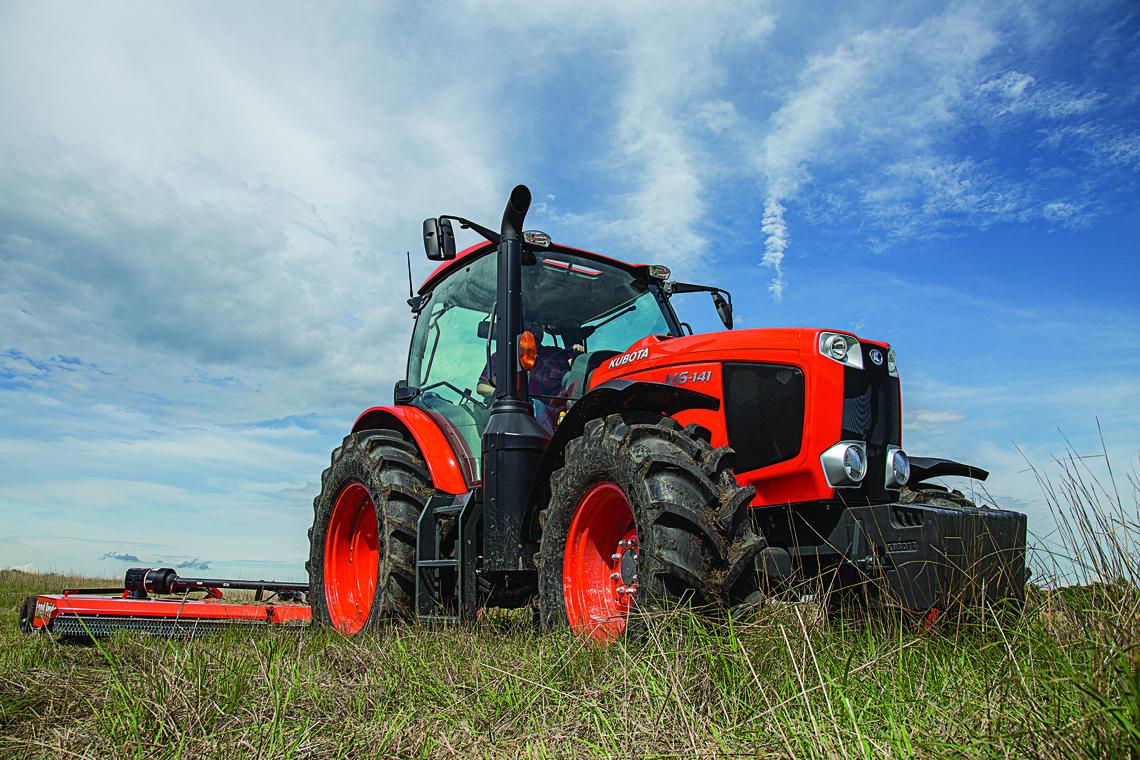 Kubota M6 141 Tractor