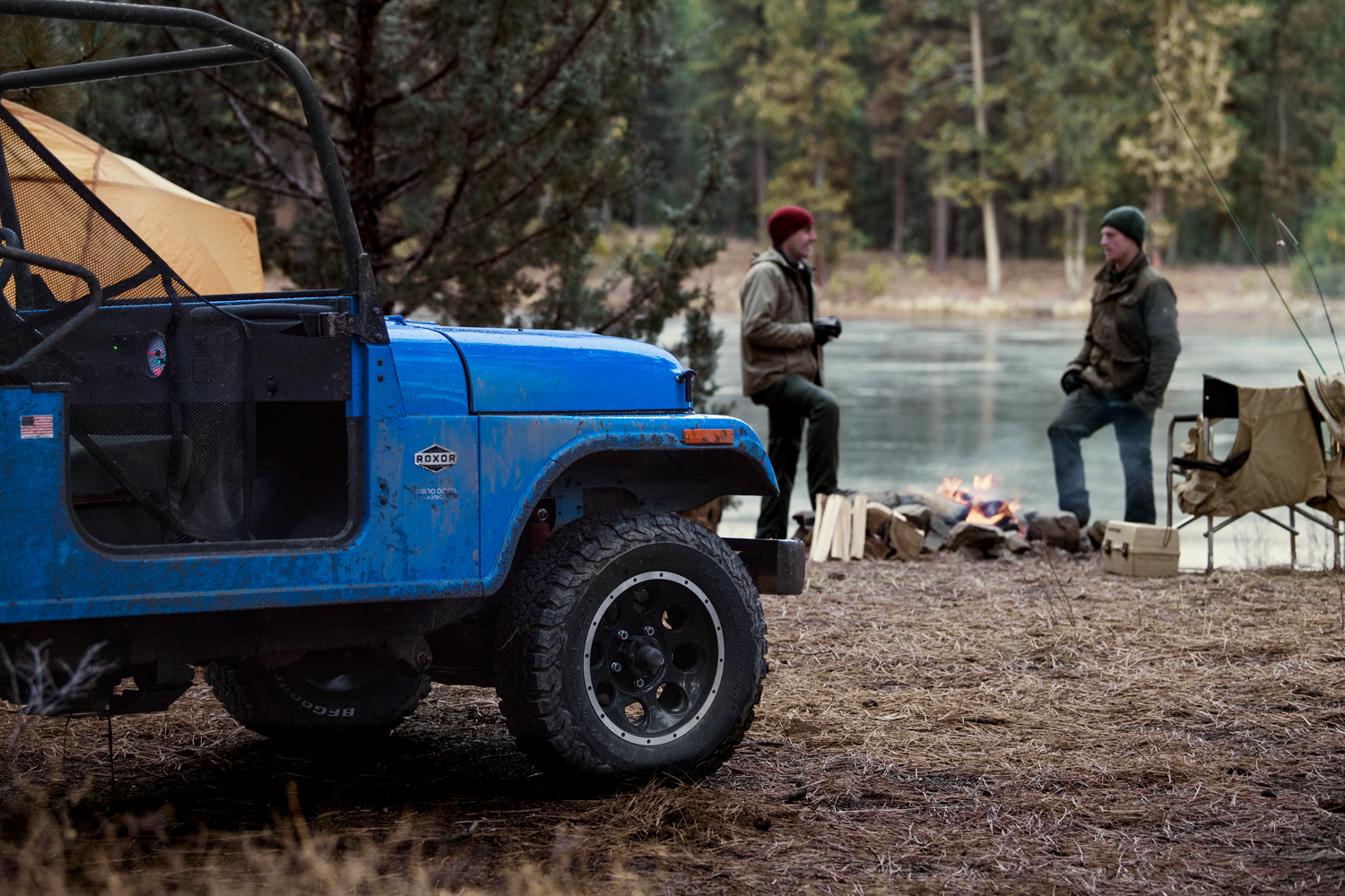 Camping with the Mahindra ROXOR