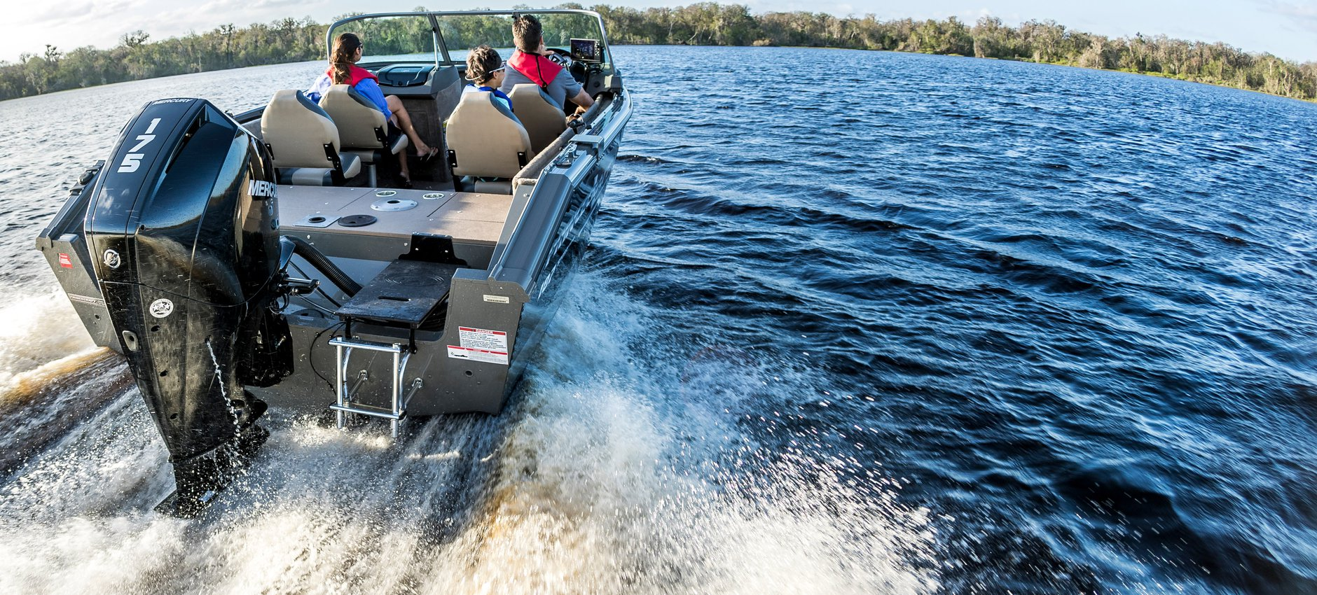 Mercury Outboard Motors on the water in Taylor, MI