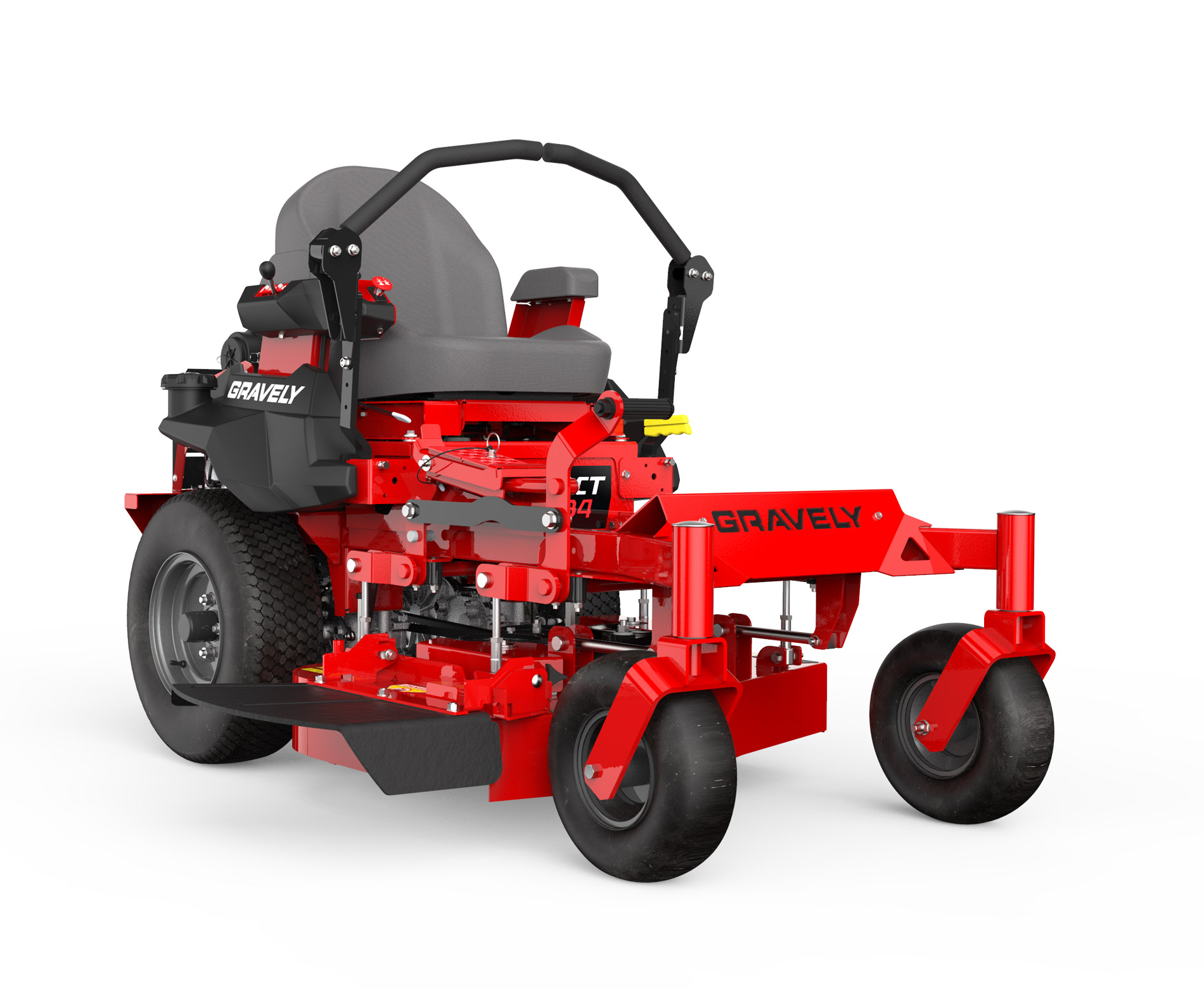 Gravely Compact Pro mower stock photo