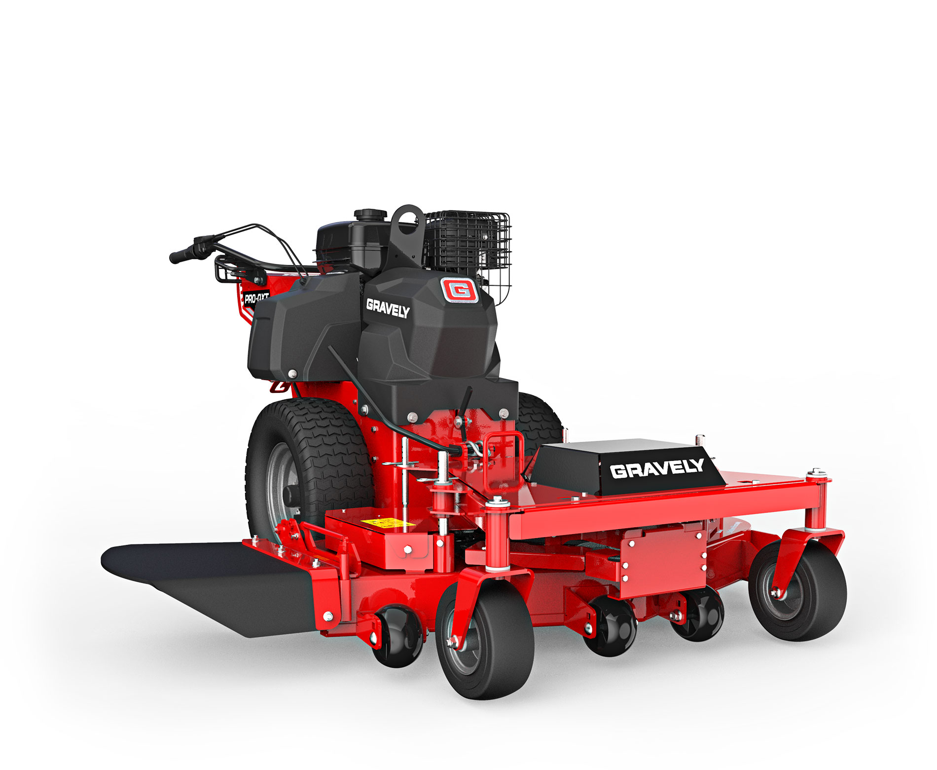 Gravely Pro QXT Tractor stock photo