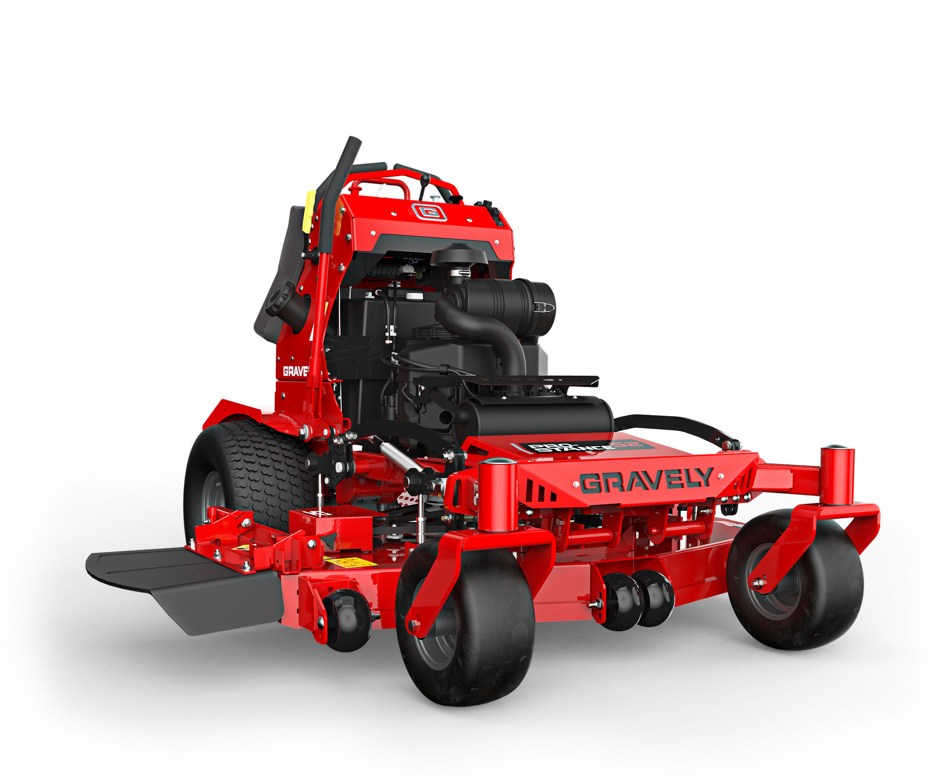 Gravely Pro Stance Mower stock photo