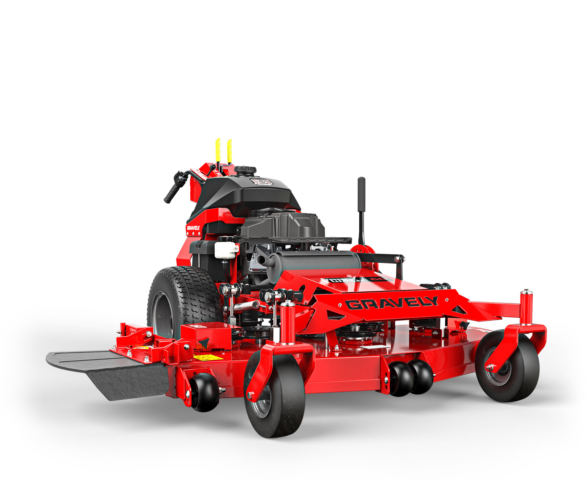 Gravely Pro Walk Hydro Mower stock photo