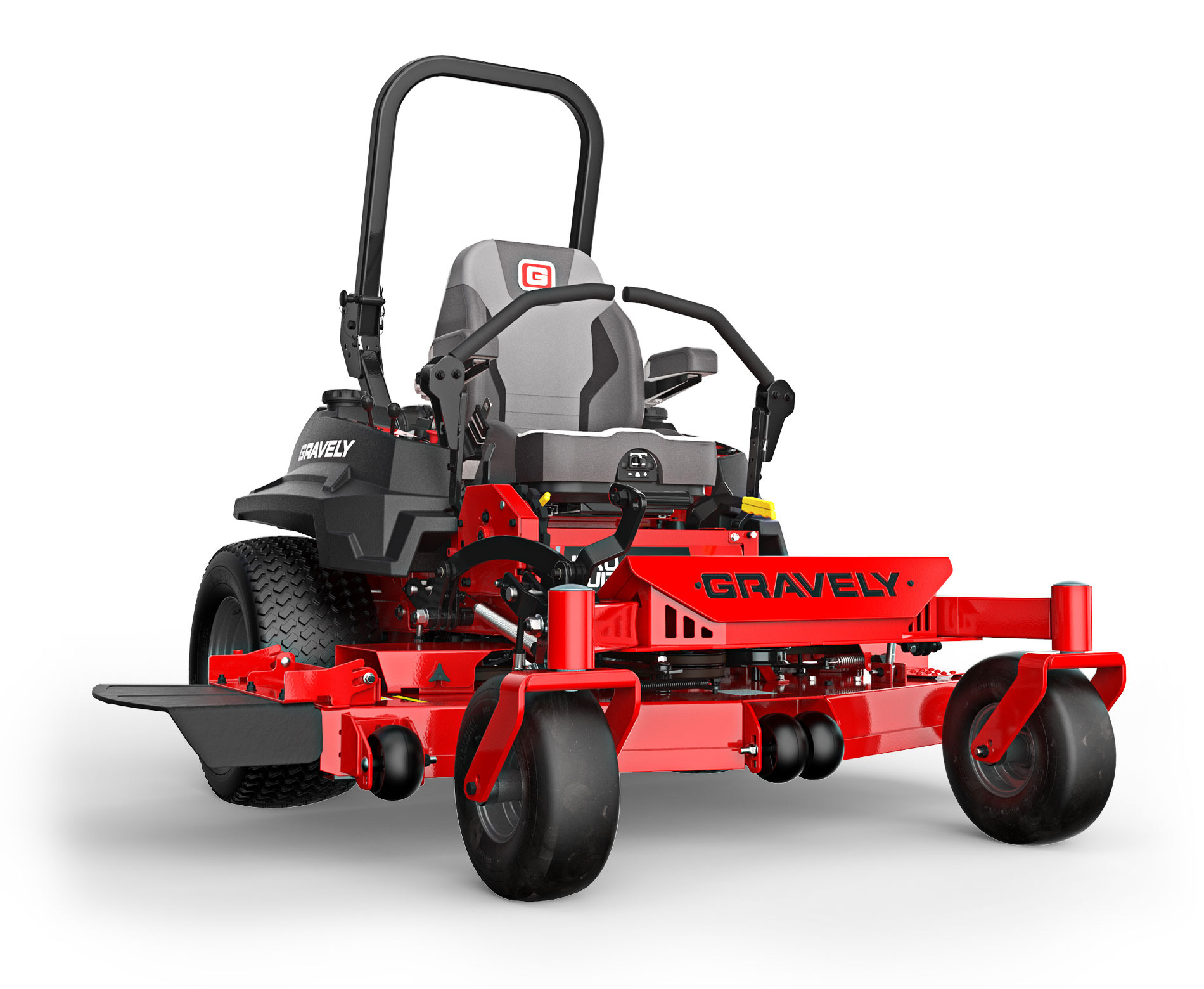 Gravely Pro-Turn 400 mower stock photo