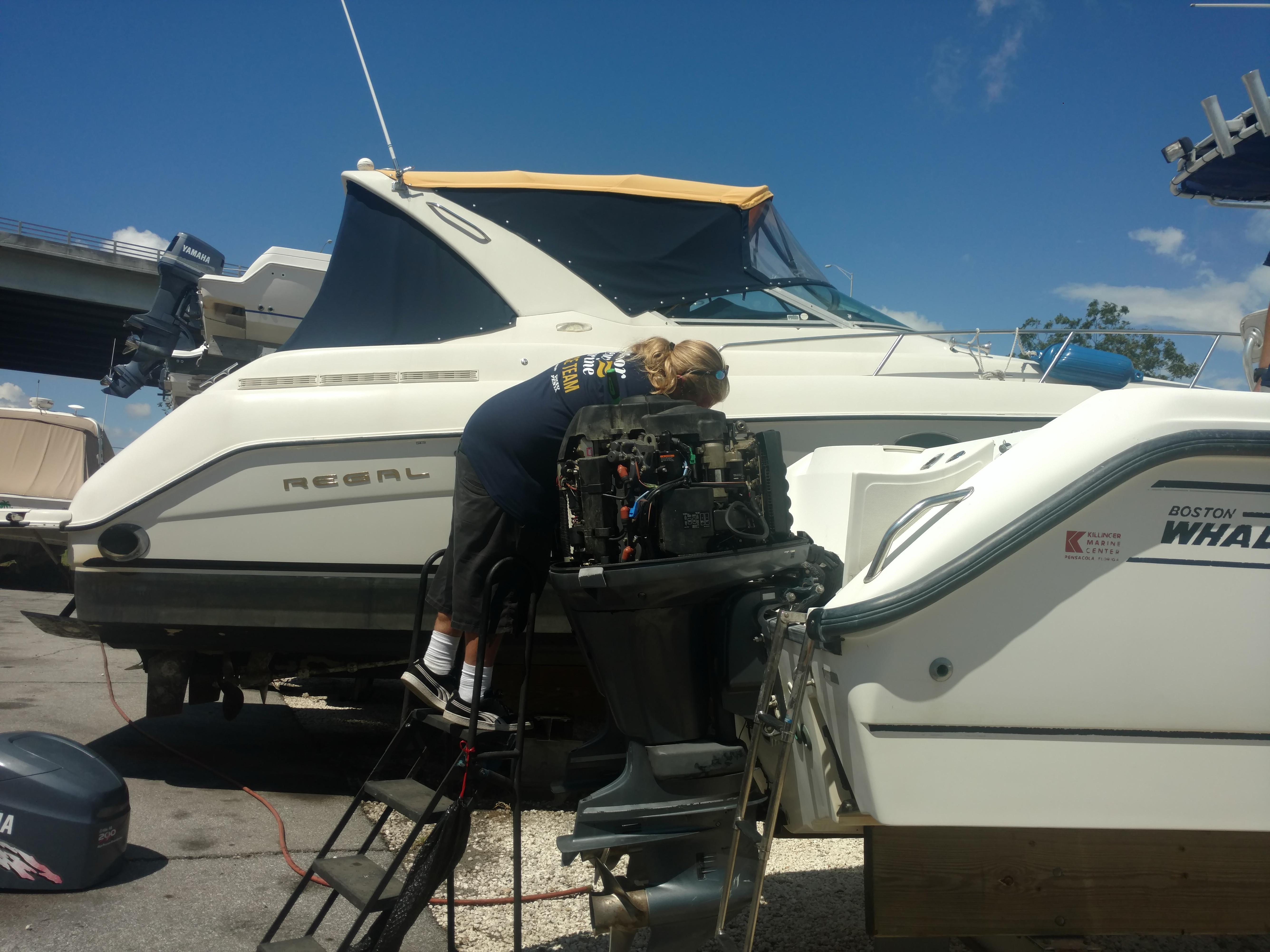 Boat Service & Parts   Pensacola, FL   Harbor View Marine