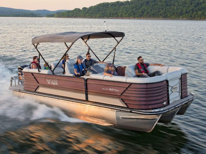 SunCatcher Elite 324 RCX Pontoon boat