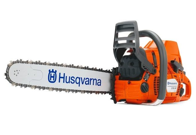 a picture of a 2019 Husqvarna 576 XP® chainsaw