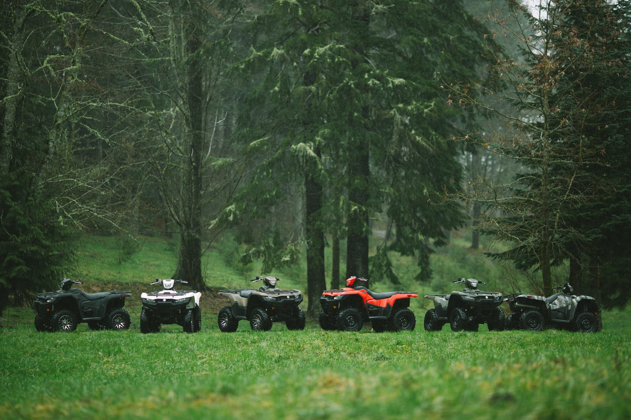 Suzuki KingQuad Lineup in Madison, WI