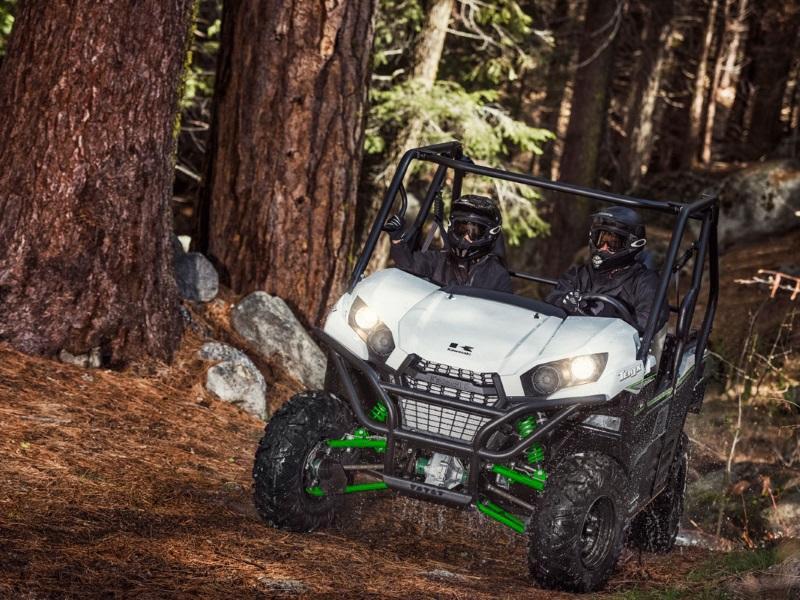 2019 Kawasaki Teryx® ESP on a trail