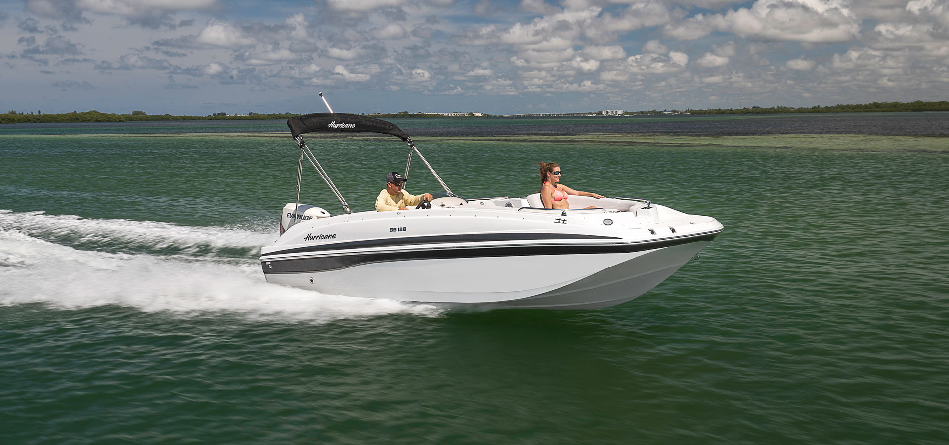 Hurricane SunDeck Sport on Water