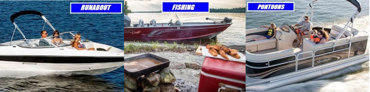 Pntoon Fishing and Runabout Boat Rentals